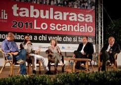 Tabularasa with Raffaele Martelliti and Giusva Branca (Reggio Calabria 2011, photo: M. Costantino)