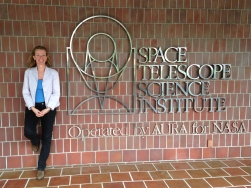 At the Hubble Space Telescope Headquarter, May 2014