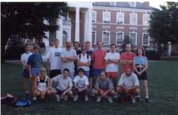 Soccer team at the Johns Hopkins University, Baltimore 1998