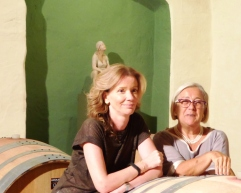 With Donatella Colombini, September 2014