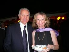With Santo Versace Rome 2010
