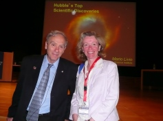 With science writer Mario Livio (Stockholm 2012)