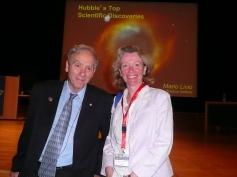 With science writer Mario Livio (Stockholm 2012)