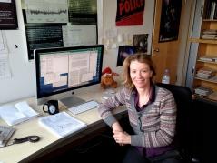 My desk March 2014