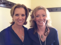 At TEDx Lecce with Kerry Kennedy (2013)